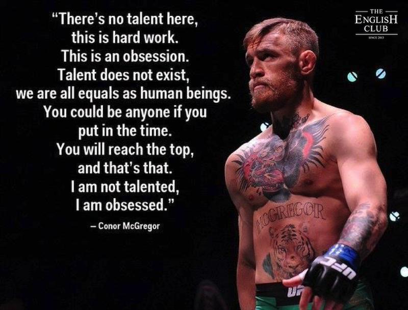 英語の名言:Conor McGregor