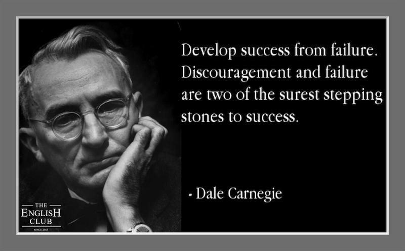 英語の名言:Dale Carnegie