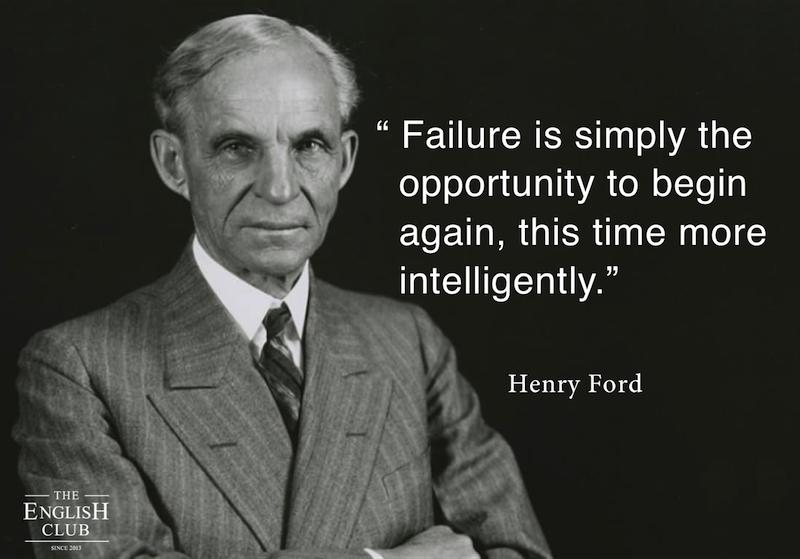 英語の名言:Henry Ford