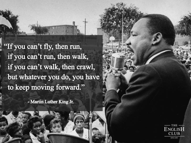 英語の名言:Martin Luther King Jr