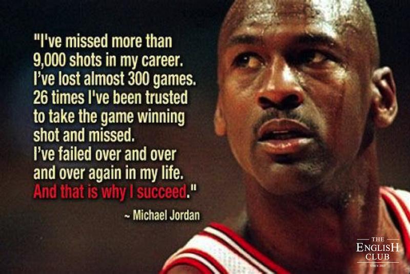 英語の名言:Michael Jordan-1