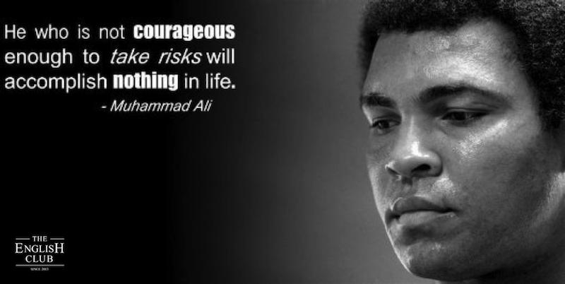 英語の名言:Muhammad Ali-1