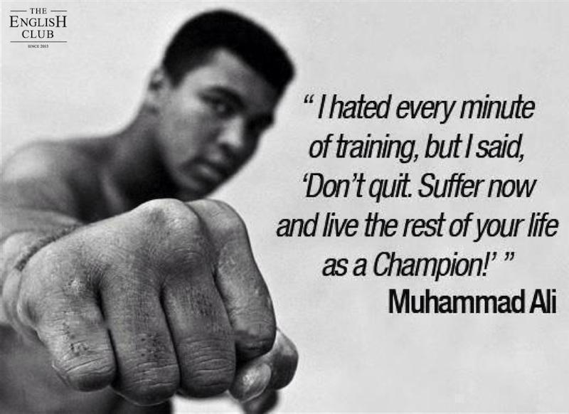 英語の名言:Muhammad Ali-2
