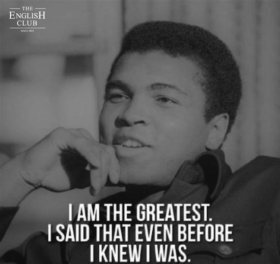 英語の名言:Muhammad Ali-3