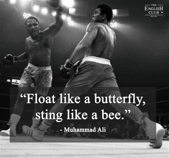 英語の名言:Muhammad Ali-4