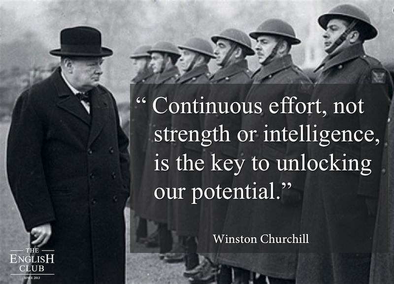 英語の名言:Winston Churchill