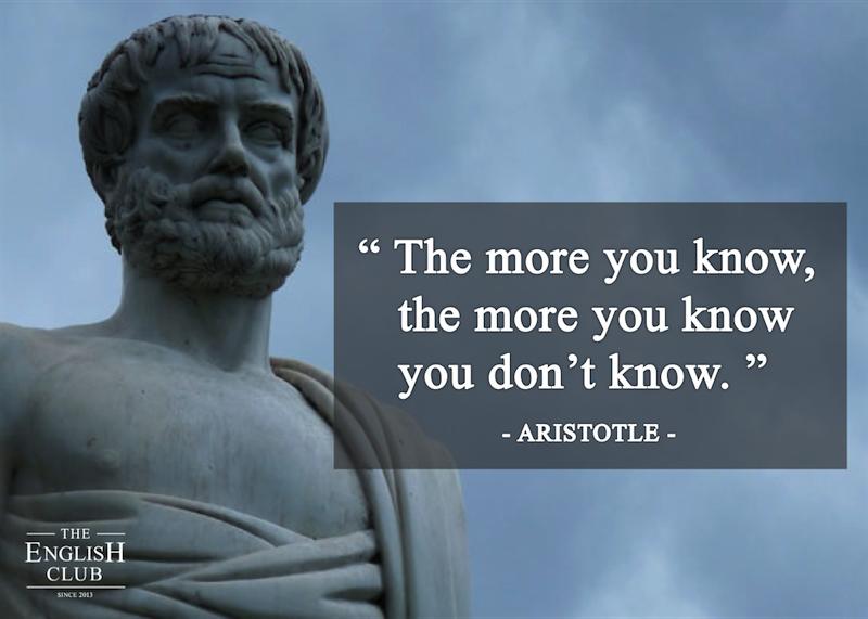 英語の名言:Aristotle