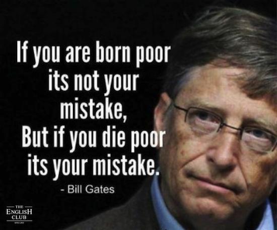 英語の名言:Bill Gates