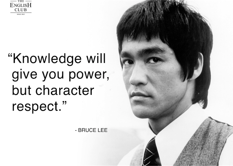 英語の名言:Bruce Lee