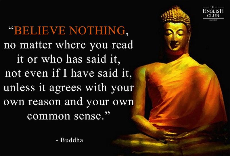 英語の名言:Buddha