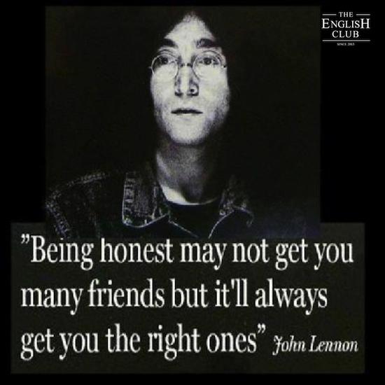 英語の名言:John Lennon