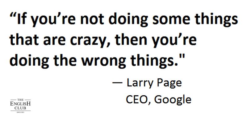 英語の名言:Larry Page