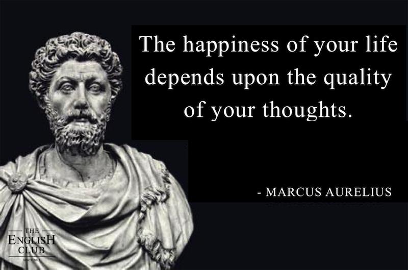 英語の名言:Marcus Aurelius
