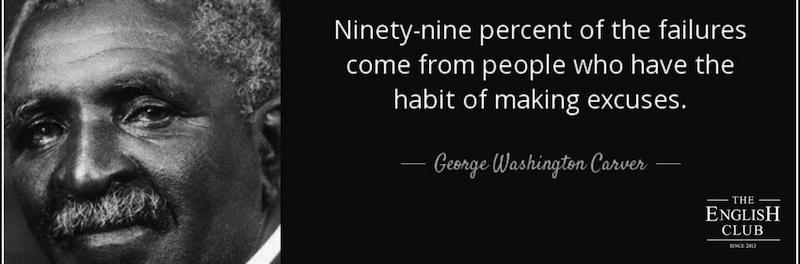 英語の名言:George Washington Carver