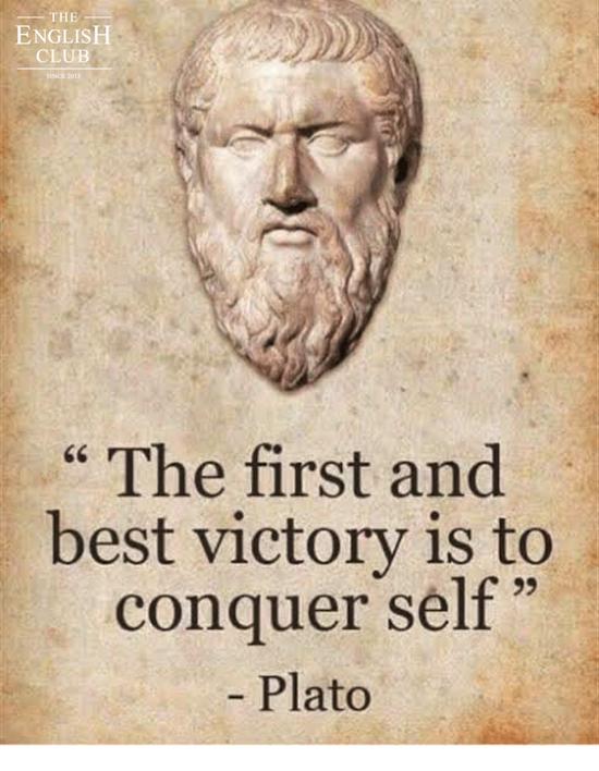 英語の名言:Plato
