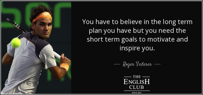 英語の名言:Roger Federer