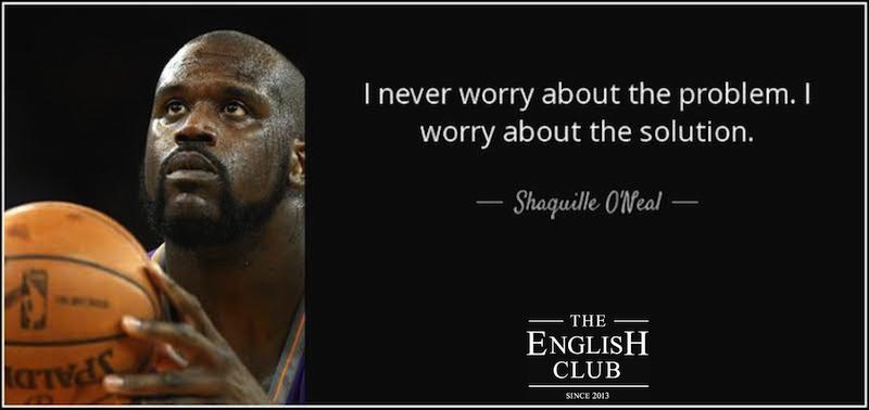 英語の名言:Shaquille O'Neal