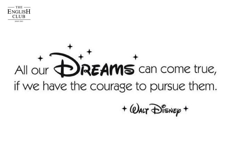 英語の名言:Walt Disney