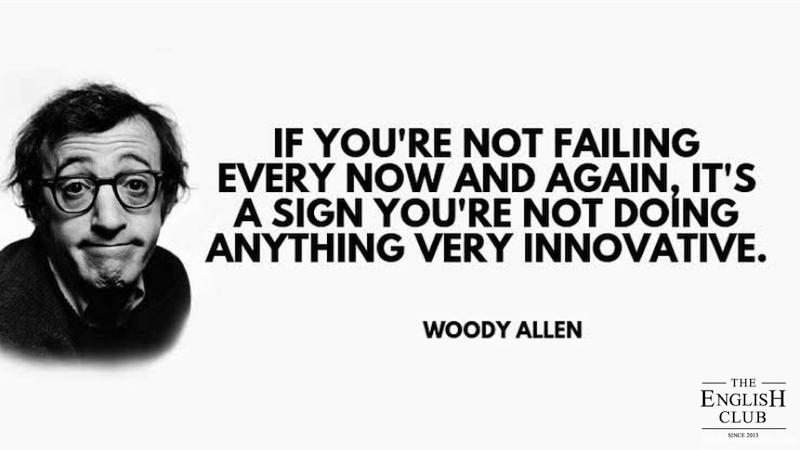英語の名言:Woody Allen