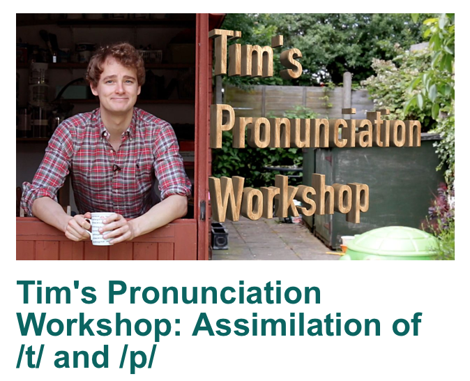 Tim's Pronunciation Workshop