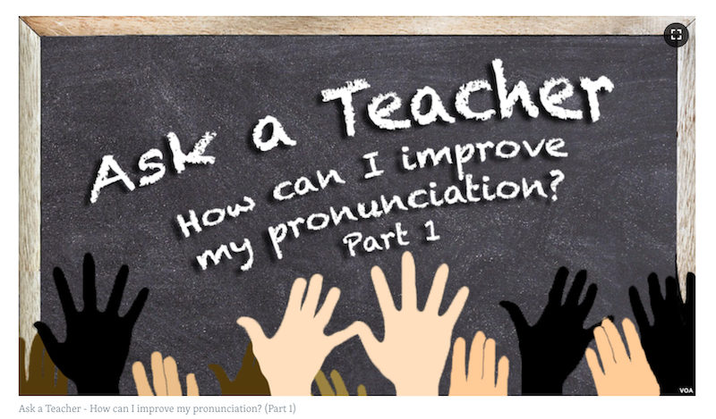 VOA Learning English - Ask a Teacher
