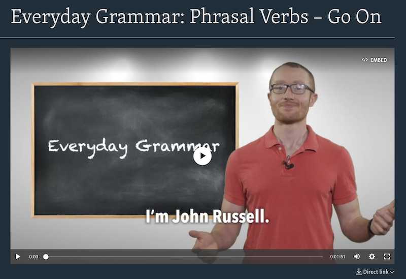 VOA Learning English - Everyday Grammar