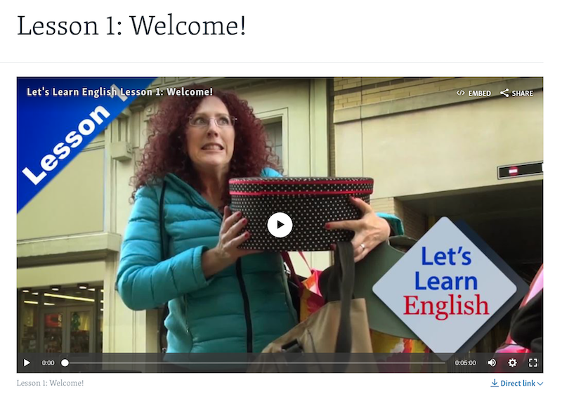 VOA Learning English - Let's Learn English Level 1