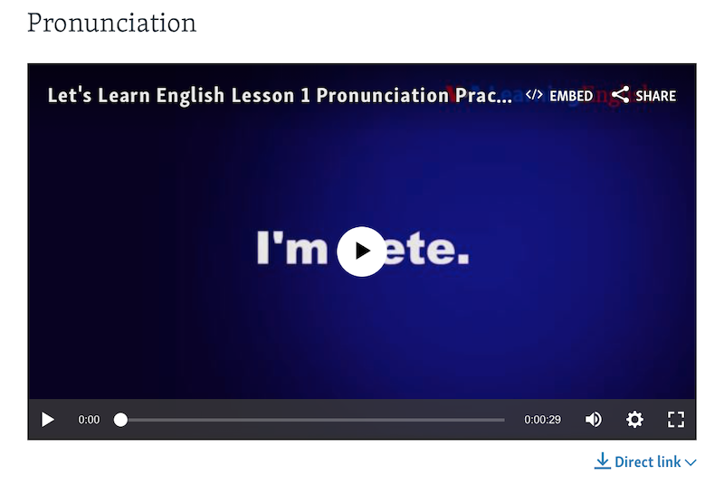 VOA Learning English - Pronunciation-1