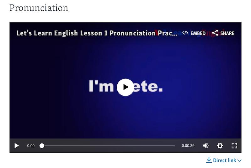 VOA Learning English - Pronunciation-1