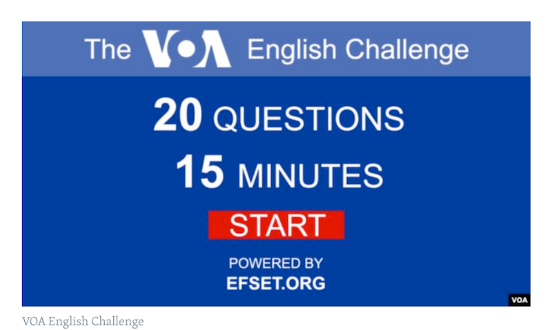 VOA Learning English - Test Your English