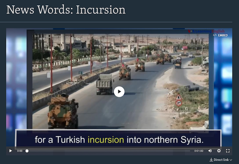 VOA Learning English - The News Words